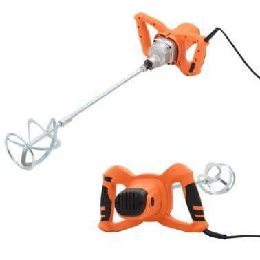 vidaXL Betonmixer elektrisch handmodel 6 snelheden 1200 W[1/10]