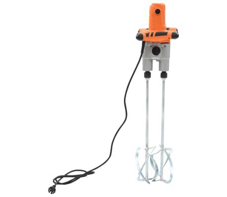 vidaXL Elektro Hand Betonmischer 6 Geschwindigkeit Doppelpaddel 1600W[3/11]