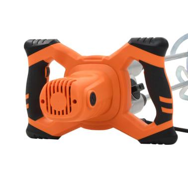 vidaXL Elektro Hand Betonmischer 6 Geschwindigkeit Doppelpaddel 1600W[5/11]
