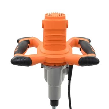 vidaXL Elektro Hand Betonmischer 6 Geschwindigkeit Doppelpaddel 1600W[6/11]