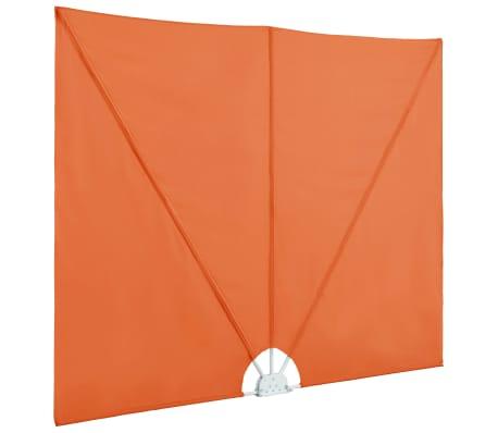 vidaXL Faltbare Seitenmarkise Terracotta-Rot 300×150 cm[5/8]
