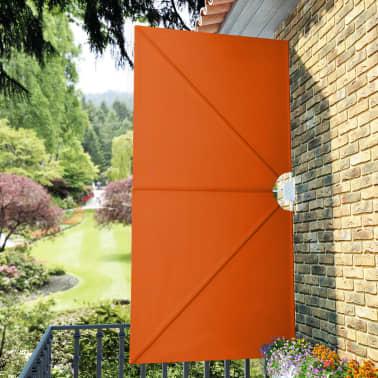 vidaXL Faltbare Seitenmarkise Terracotta-Rot 300×150 cm[4/8]