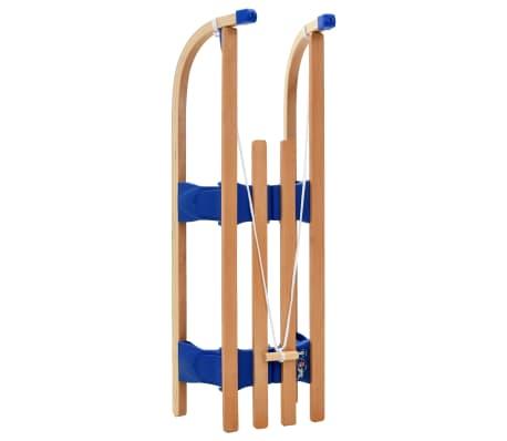 vidaXL Klappschlitten Holz 110 cm[4/7]