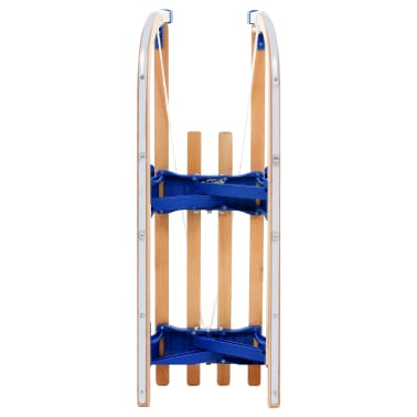 vidaXL Klappschlitten Holz 110 cm[3/7]