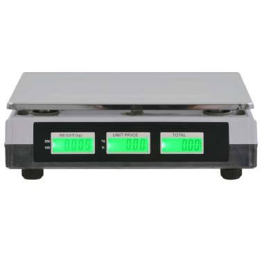 vidaXL Bilancia Digitale 30 kg con Batteria Ricaricabile[2/12]