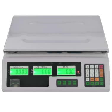 vidaXL Waga cyfrowa do 30 kg z akumulatorem[3/12]