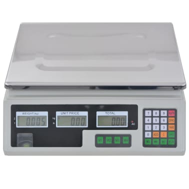 vidaXL Waga cyfrowa do 30 kg z akumulatorem[8/12]
