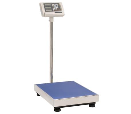 vidaXL digitális mérleg 300 kg-ig, akkumulátorral