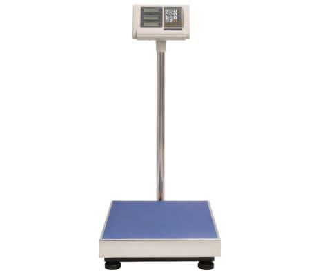 Dettagli su vidaXL Bilancia Digitale 300 kg con Batteria Ricaricabile Piattaforma Peso