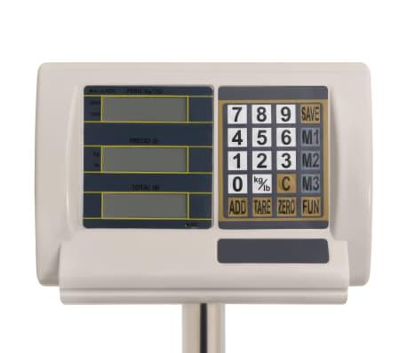 vidaXL Cyfrowa waga platformowa do 300 kg, akumulatorowa[5/10]