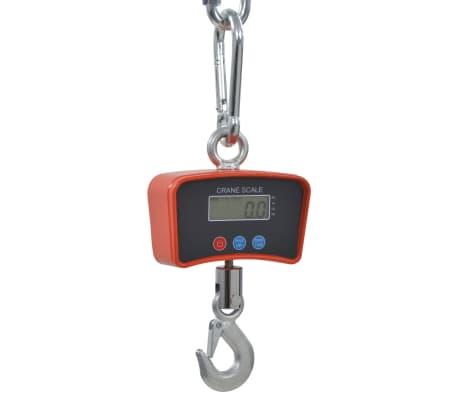 vidaXL Bilancia Elettronica a Gancio 300 kg