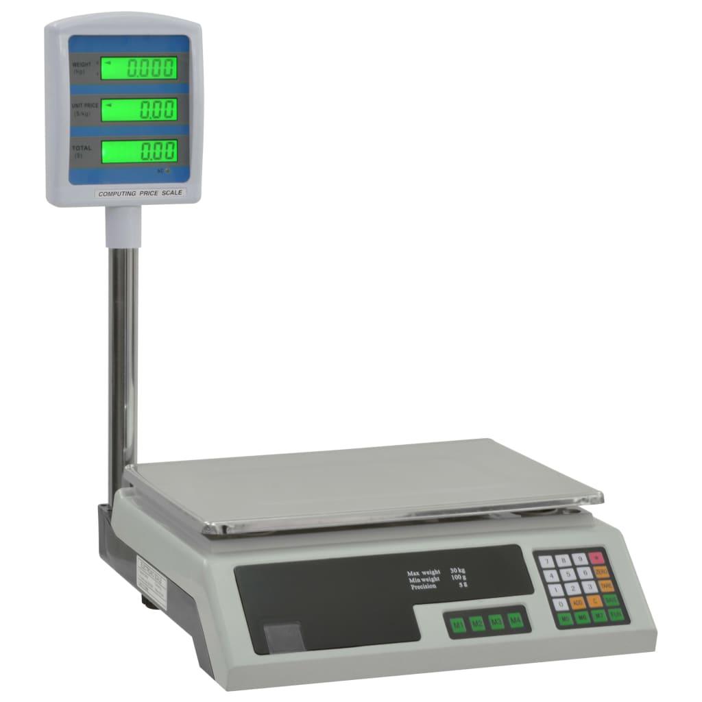 Elektrooniline pakikaal LCDga 30 kg