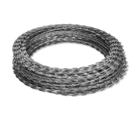vidaXL Prikkeldraad concertina NATO 300 m gegalvaniseerd staal[2/4]