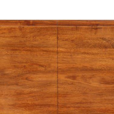 vidaXL Juego de comedor 7 piezas madera de acacia acabado sheesham[14/18]