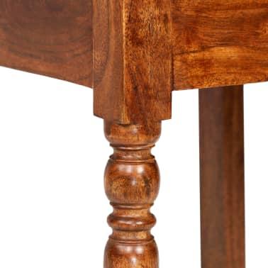 vidaXL Juego de comedor 7 piezas madera de acacia acabado sheesham[8/18]