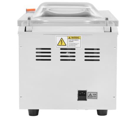 vidaXL Vakuuminio pakavimo aparatas, nerūdijantis plienas, 400W[3/8]
