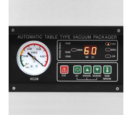 vidaXL Vakuuminio pakavimo aparatas, nerūdijantis plienas, 400W[6/8]