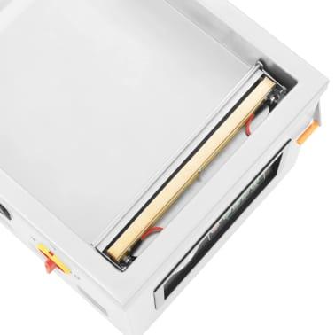 vidaXL Vakuuminio pakavimo aparatas, nerūdijantis plienas, 400W[4/8]