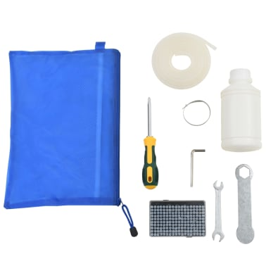 vidaXL Professionell vakuumförpackare 750 W rostfritt stål[7/8]