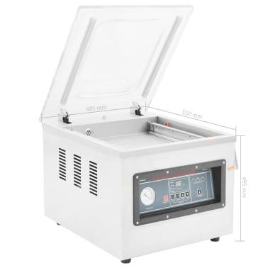 vidaXL Professionell vakuumförpackare 750 W rostfritt stål[8/8]