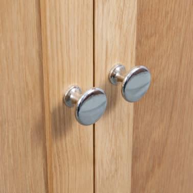 vidaXL Dulap de colț, 80 x 33,5 x 78 cm, lemn masiv de stejar[7/8]