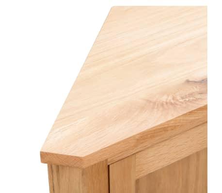 vidaXL Armoire d'angle 59 x 36 x 80 cm Bois de chêne massif[6/8]