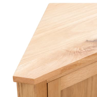 vidaXL Dulap de colț, 59 x 36 x 80 cm, lemn masiv de stejar[6/8]