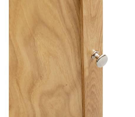 vidaXL Dulap de colț, 59 x 36 x 180 cm, lemn masiv de stejar[6/7]