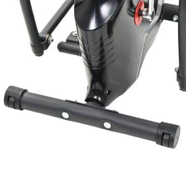 vidaXL Magnetni eliptični trenažer z merilnikom pulza XL[6/7]