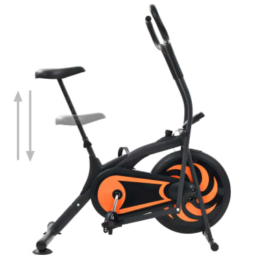 vidaXL Exercise Air Bike 46 cm[3/9]