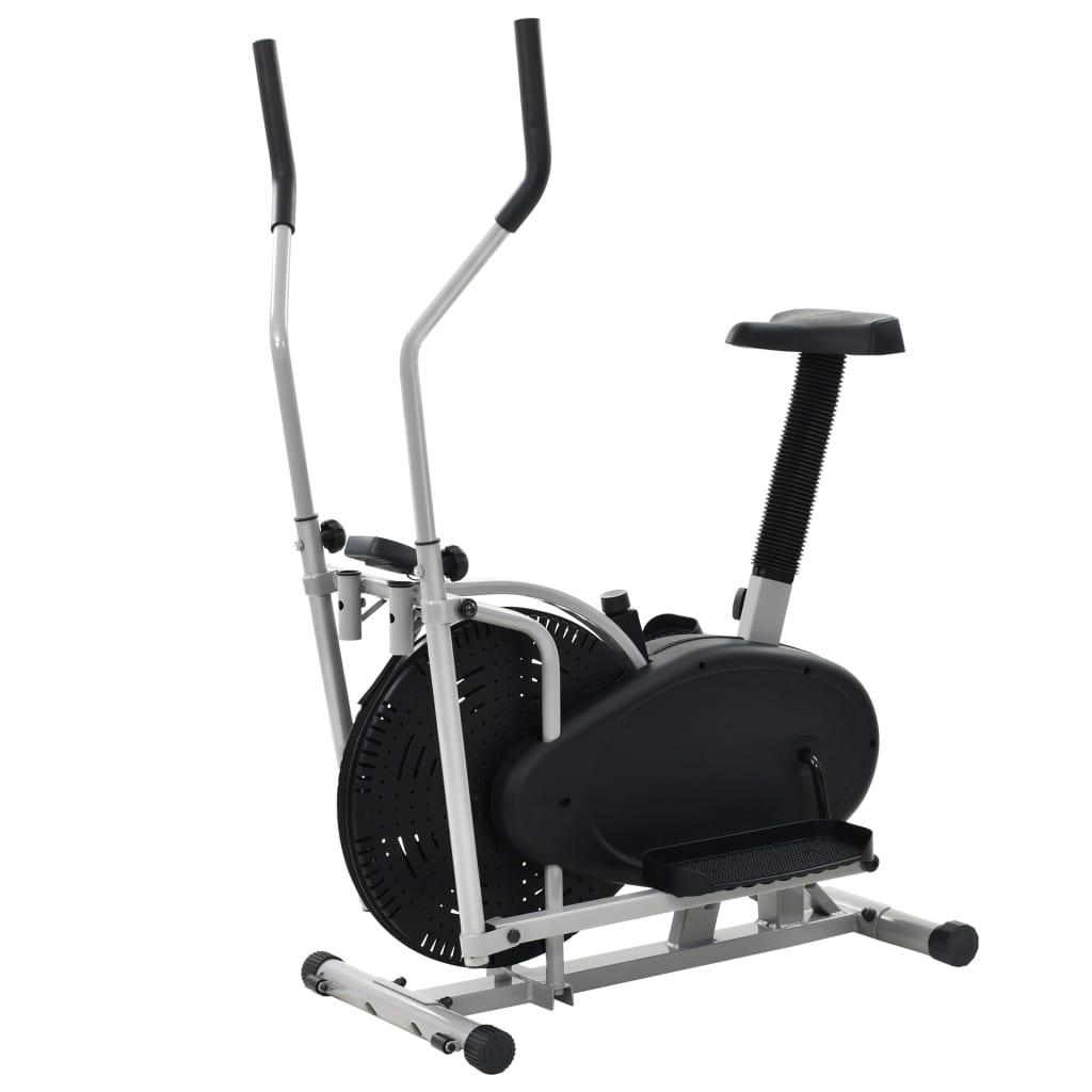 vidaXL Bicicletă eliptică Orbitrac 2-în-1, 50 cm, rezistență mecanică vidaxl.ro