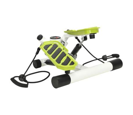 vidaXL Stepmaskin med motstandsbånd hvit og grønn[2/5]