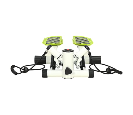 vidaXL Swing Stepper with Resistance Cords White and Green[3/5]