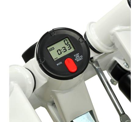 vidaXL Stepmaskin med motstandsbånd hvit og grønn[4/5]