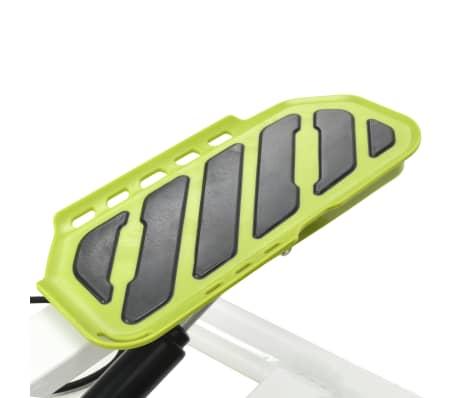 vidaXL Stepmaskin med motstandsbånd hvit og grønn[5/5]