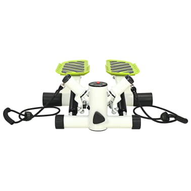 vidaXL Stepmaskin med motstandsbånd hvit og grønn[3/5]