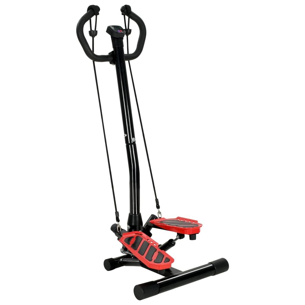 vidaXL Stepper cu balansare cu stâlp central și corzi de rezistență vidaxl.ro