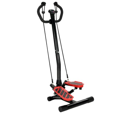 vidaXL Máquina stepper con poste central y cuerdas de resistencia[1/10]