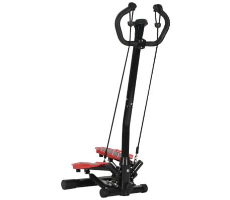 vidaXL Máquina stepper con poste central y cuerdas de resistencia[3/10]