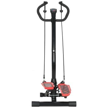 vidaXL Máquina stepper con poste central y cuerdas de resistencia[4/10]