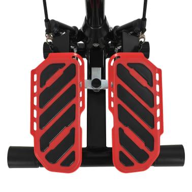 vidaXL Máquina stepper con poste central y cuerdas de resistencia[8/10]