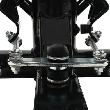 vidaXL Máquina stepper con poste central y cuerdas de resistencia[9/10]