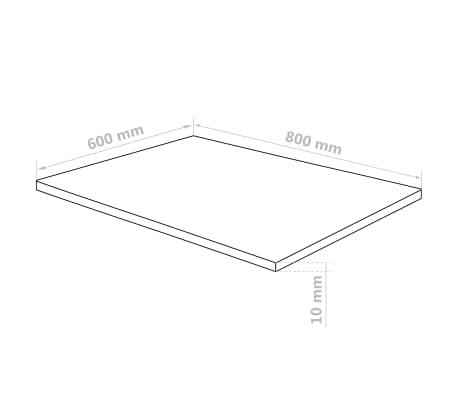 vidaXL Láminas de vidrio acrílico 5 unidades 60x80 cm 10 mm[6/6]