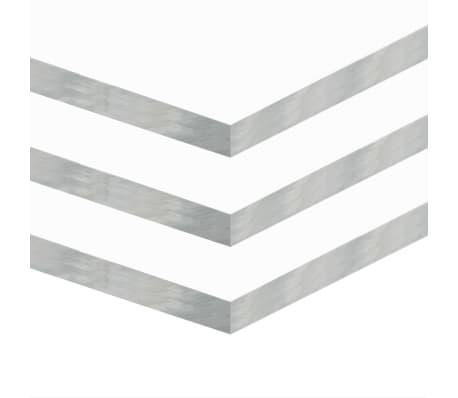 vidaXL Láminas de vidrio acrílico 3 unidades 60x80 cm 15 mm[2/6]