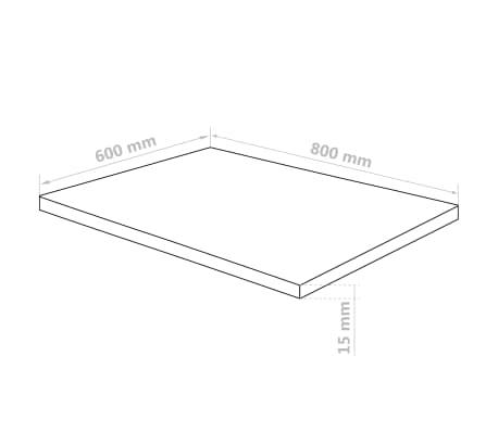 vidaXL Láminas de vidrio acrílico 3 unidades 60x80 cm 15 mm[6/6]