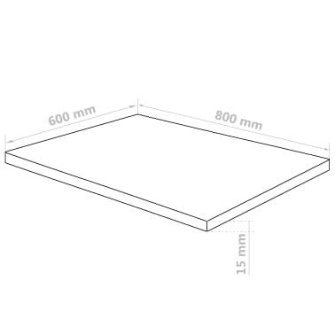 vidaXL Feuille de verre acrylique transparent 3 pcs 60 x 80 cm 15 mm[6/6]