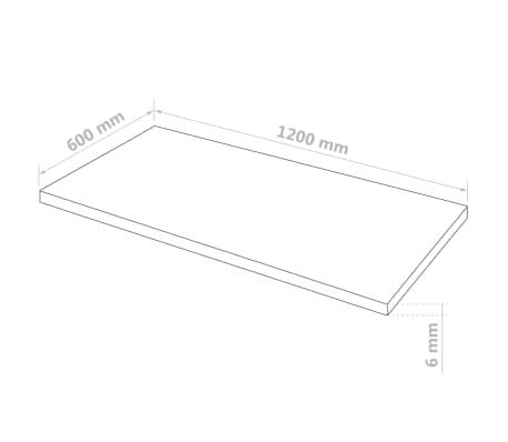vidaXL Prozorne plošče iz akrilnega stekla 2 kosa 60x120 cm 6 mm[6/6]
