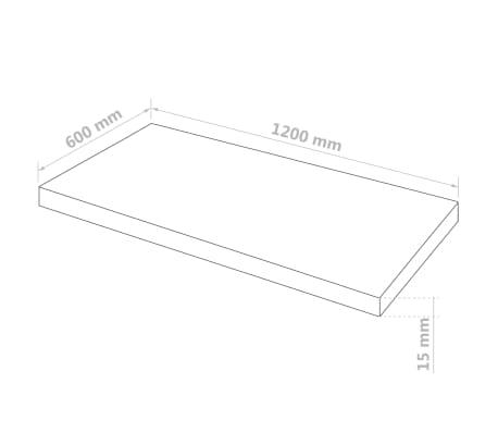 vidaXL Láminas de vidrio acrílico 2 unidades 60x120 cm 15 mm[6/6]