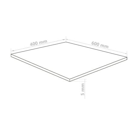 vidaXL Prozorne plošče iz akrilnega stekla 5 kosov 40x60 cm 5 mm[6/6]