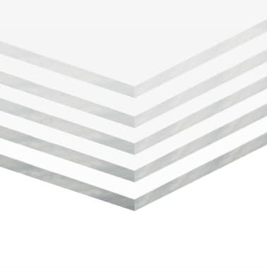 vidaXL Skaidrūs akrilo stiklo lakštai, 5vnt., 40x60cm, 5mm[2/6]